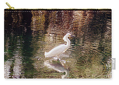 Carry-all Pouch featuring the photograph Peaceful Waters by Lydia Holly