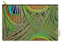 Peacock Feather 2 Carry-all Pouch