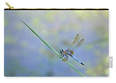 Carry-all Pouch featuring the photograph Perched Dragon by JD Grimes