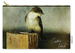 Perched Phoebe Carry-all Pouch