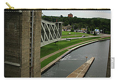 Carry-all Pouch featuring the photograph Peterborough Lift Lock by Alyce Taylor