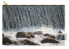 Carry-all Pouch featuring the photograph Phelps Mill Dam by Penny Meyers
