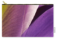 Photograph Of A Dutch Iris Carry-all Pouch