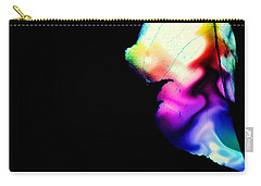 Carry-all Pouch featuring the photograph Phycadelic Leaf by Jessica Shelton
