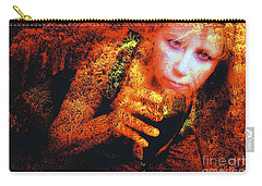 Picnic In The Forest Carry-all Pouch by Clayton Bruster