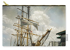 Picton Castle Carry-all Pouch by Robin-Lee Vieira