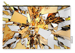 Carry-all Pouch featuring the digital art Pieces Of Gold by Phil Perkins