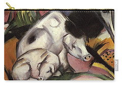 Pigs Carry-all Pouch by Franz Marc