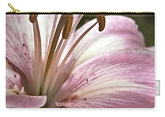 Pink Asiatic Lily Carry-all Pouch