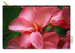 Pink Canna Carry-all Pouch