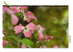 Pink Dogwood Blooms Carry-all Pouch