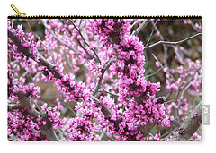 Carry-all Pouch featuring the photograph Pink Flower by Andrea Anderegg