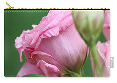 Pink Lisianthus Carry-all Pouch