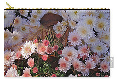 Carry-all Pouch featuring the photograph Pink Mum by Joseph Yarbrough