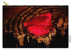 Carry-all Pouch featuring the photograph Pink Petal by Jessica Shelton
