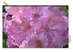 Pink Rhododendrons Carry-all Pouch by Chriss Pagani
