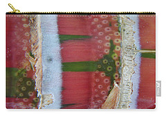 Pink Sugarcane 3 Carry-all Pouch
