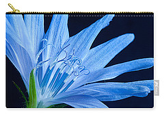 Carry-all Pouch featuring the photograph Pistil's Of Chicory by Randall Branham