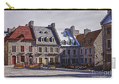 Carry-all Pouch featuring the photograph Place Royale by Eunice Gibb