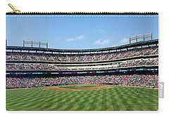 Globe Life Park, Home Of The Texas Rangers Carry-all Pouch