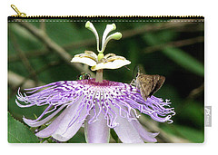 Carry-all Pouch featuring the photograph Plenty For All by Donna Brown