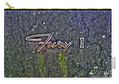 Plymouth Fury Logo Carry-all Pouch by Dan Stone