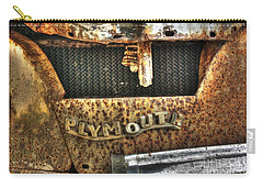 Plymouth Logo Relic Carry-all Pouch by Dan Stone