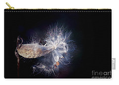 Carry-all Pouch featuring the photograph Pod In The Wind by Deniece Platt