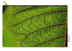 Poinsettia Leaf I Carry-all Pouch