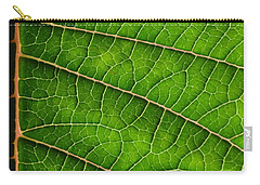 Poinsettia Leaf IIi Carry-all Pouch