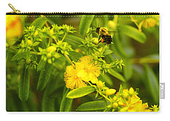 Pollinating The Flower Carry-all Pouch