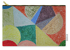 Carry-all Pouch featuring the painting Polychrome by Sonali Gangane