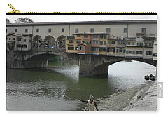 Carry-all Pouch featuring the photograph Ponte Vecchio by Laurel Best