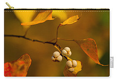 Carry-all Pouch featuring the photograph Popcorn Tree by Dan Wells