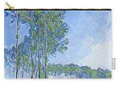 Poplars Carry-all Pouch by Claude Monet