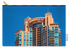 Portofino Tower At Miami Beach Carry-all Pouch