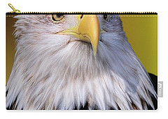 Portrait Of A Bald Eagle Carry-all Pouch