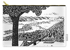 Portsmouth Ohio From A Kentucky Hill Carry-all Pouch