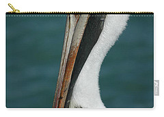 Carry-all Pouch featuring the photograph Posing For The Tourists by Vivian Christopher