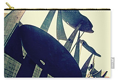 Post Alley Poppies Carry-all Pouch by Leanna Lomanski