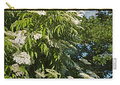 Carry-all Pouch featuring the photograph Potchen's Cascade by Joseph Yarbrough