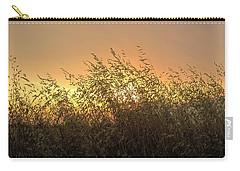 Prairie Dusk Carry-all Pouch by Leanna Lomanski