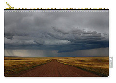 Prairie Storm In Canada Carry-all Pouch