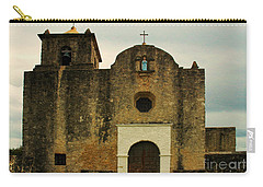 Carry-all Pouch featuring the photograph Presidio La Bahia by Vivian Christopher