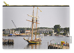 Pride Of Baltimore II Pb2p Carry-all Pouch by Jim Brage