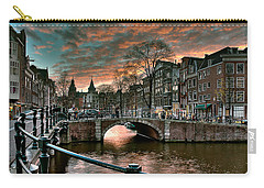 Prinsengracht And Reguliersgracht. Amsterdam Carry-all Pouch