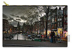 Prinsengracht And Spiegelgracht. Amsterdam Carry-all Pouch