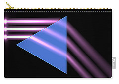 Carry-all Pouch featuring the digital art Prism 1 by Russell Kightley