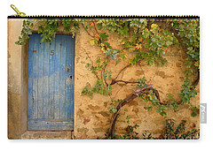 Carry-all Pouch featuring the photograph Provence Door 5 by Lainie Wrightson