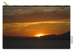 Carry-all Pouch featuring the photograph Puerto Vallarta Sunset by Marilyn Wilson